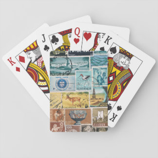 Desert Landscape Playing Cards, Boho Travel Art Playing Cards