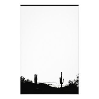 Desert Landscape Stationery