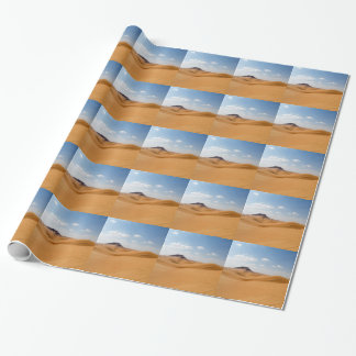 desert landscape wrapping paper