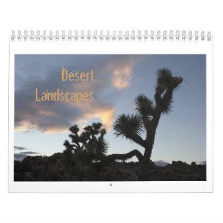 Desert Landscapes Wall Calendar