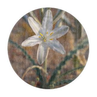 Desert Lily Wildflowers Cutting Board