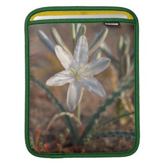 Desert Lily Wildflowers iPad Sleeve