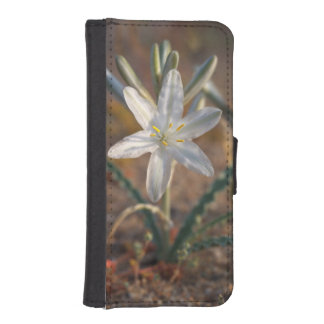 Desert Lily Wildflowers iPhone SE/5/5s Wallet Case