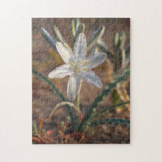 Desert Lily Wildflowers Jigsaw Puzzle