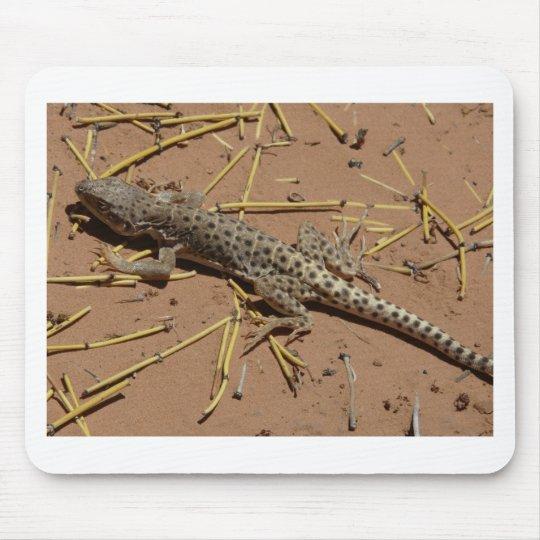 desert lizard mouse pad