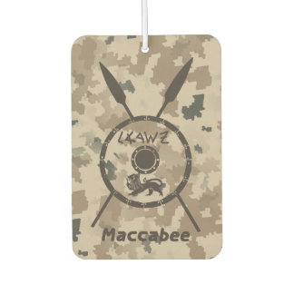 Desert Maccabee Shield And Spears