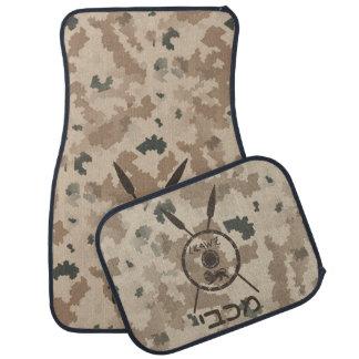 Desert Maccabee Shield And Spears Floor Mat