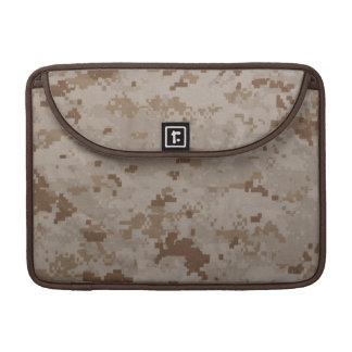 Desert MARPAT Macbook Pro Rickshaw Flap Sleeve Sleeve For MacBooks