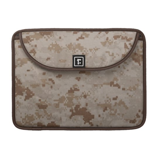 Desert MARPAT Macbook Pro Rickshaw Flap Sleeve Sleeve For MacBook Pro