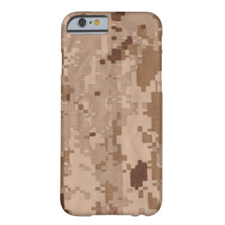 Desert Military Camouflage Barely There iPhone 6 Case