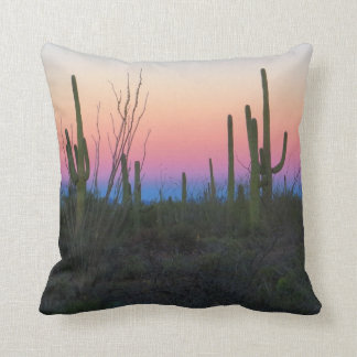 Desert Morning Colours Throw Cushions