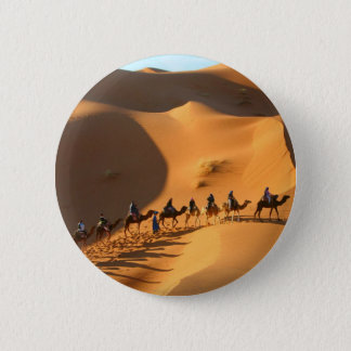 desert-morocco-sahara 6 cm round badge