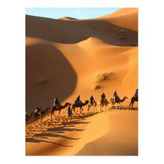 desert-morocco-sahara postcard