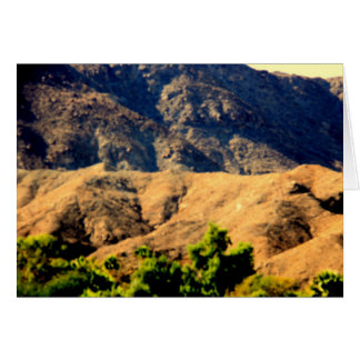 DESERT MOUNTAINS.AWESOME .MULTIPLE ITEMS GREETING CARD