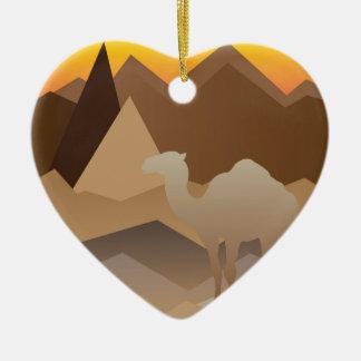 Desert Mountains.jpg Christmas Ornament