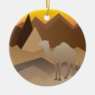 Desert Mountains.jpg Christmas Ornament