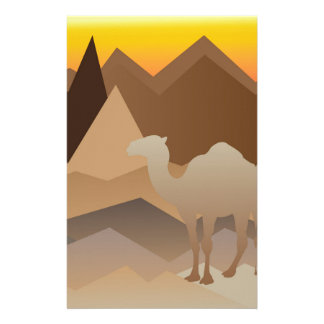 Desert Mountains.jpg Customized Stationery