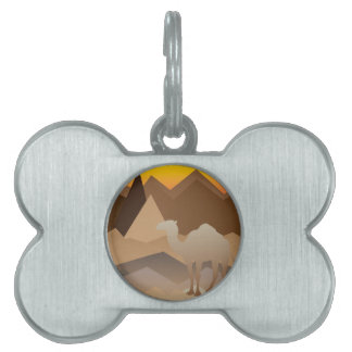 Desert Mountains.jpg Pet Name Tag