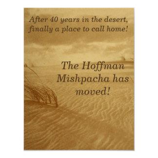 Desert Moving Announcement