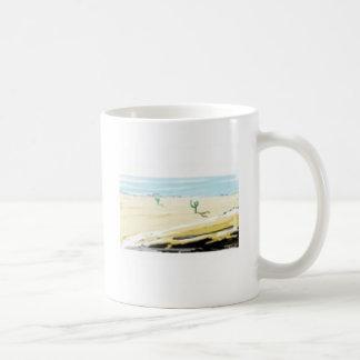 desert basic white mug