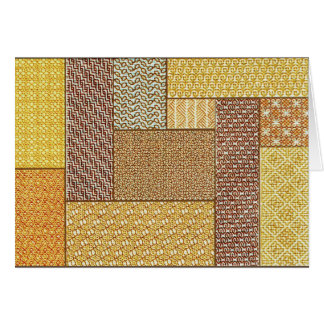 Desert Patchwork note card