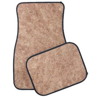 Desert Pink Stone Pattern Background Car Mat
