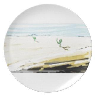 desert plates