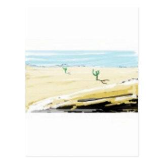 desert post cards