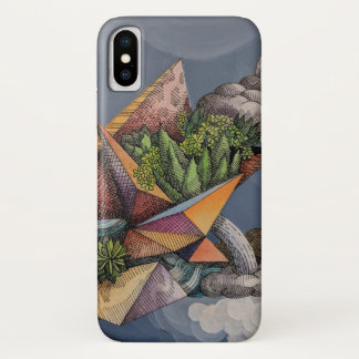Desert Rain iPhone X Case
