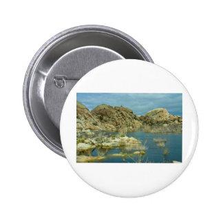 Desert Reflecdtions 4 6 Cm Round Badge