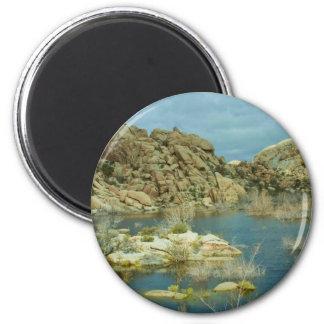 Desert Reflecdtions 4 Fridge Magnets