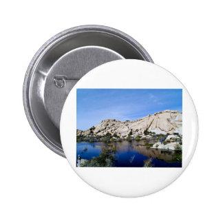Desert Reflections 10 6 Cm Round Badge