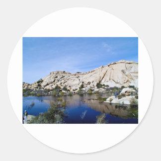 Desert Reflections 10 Round Sticker