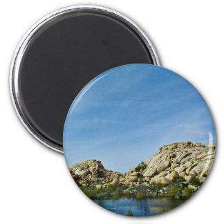 Desert reflections 11 fridge magnet