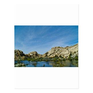 Desert reflections 11 postcard