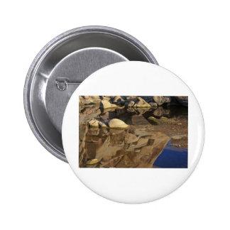 Desert Reflections 5 6 Cm Round Badge