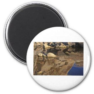 Desert Reflections 5 6 Cm Round Magnet