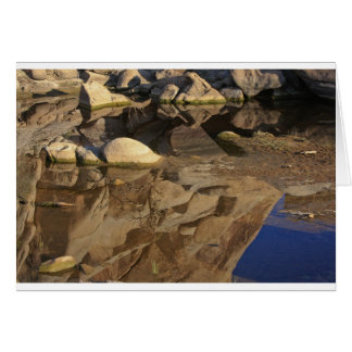 Desert Reflections 5 Greeting Card
