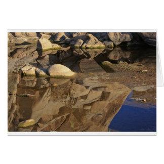 Desert Reflections 5 Greeting Card