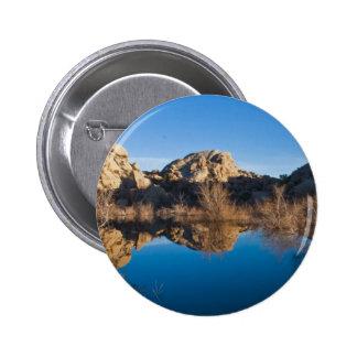 Desert Reflections 6 Cm Round Badge