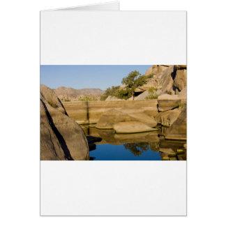 Desert Reflections 6 Greeting Card