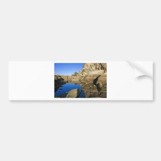 Desert Reflections 7 Car Bumper Sticker