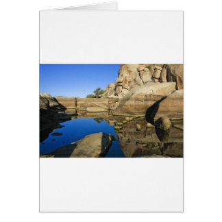 Desert Reflections 7 Greeting Card