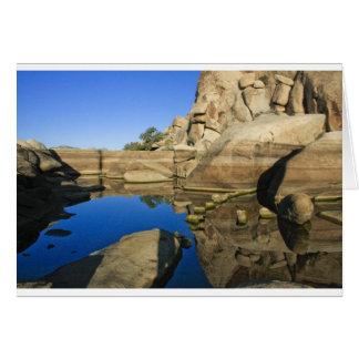 Desert Reflections 7 Greeting Card