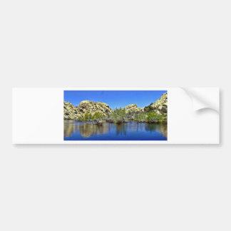 Desert Reflections 9 Bumper Sticker