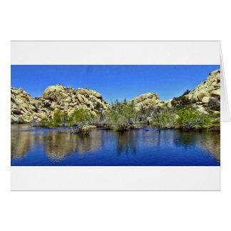 Desert Reflections 9 Greeting Card
