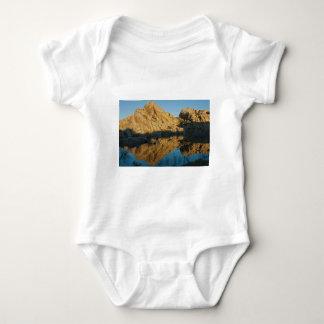 Desert reflections baby bodysuit