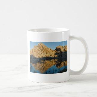 Desert reflections basic white mug