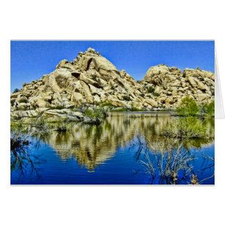 Desert Reflections Greeting Card
