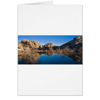 Desert Reflections Greeting Card